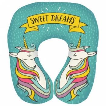 Дорожная подушка под шею для путешествий Sweet dreams