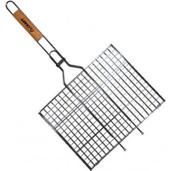 Решетка для гриля глубокая Скаут (35х26х2 см)
