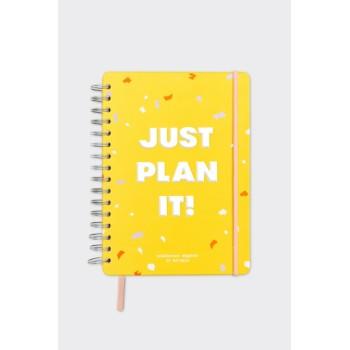 Планер Just plan it (желтый)