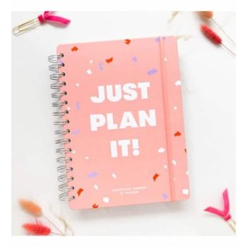 Планер Just plan it (Розовый)