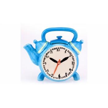 Керамический чайник Часы
