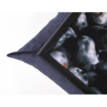 Поднос с подушкой Черника