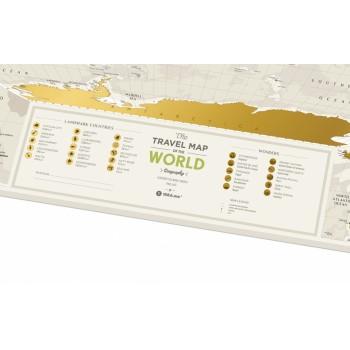 Скретч карта Geography World